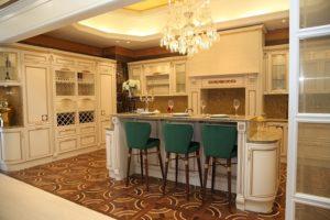 Kuchyna s ostrovcekom vo veľkom štýle